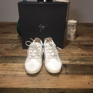 New Giuseppe Zanotti Women Double Zip Sneakers